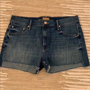 Mother denim shorts